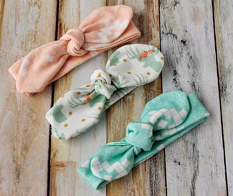 Toddler Bow Headband Sewing Pattern  AllFreeSewingcom