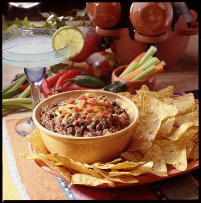 EDR Tex Mex Black Bean Dip