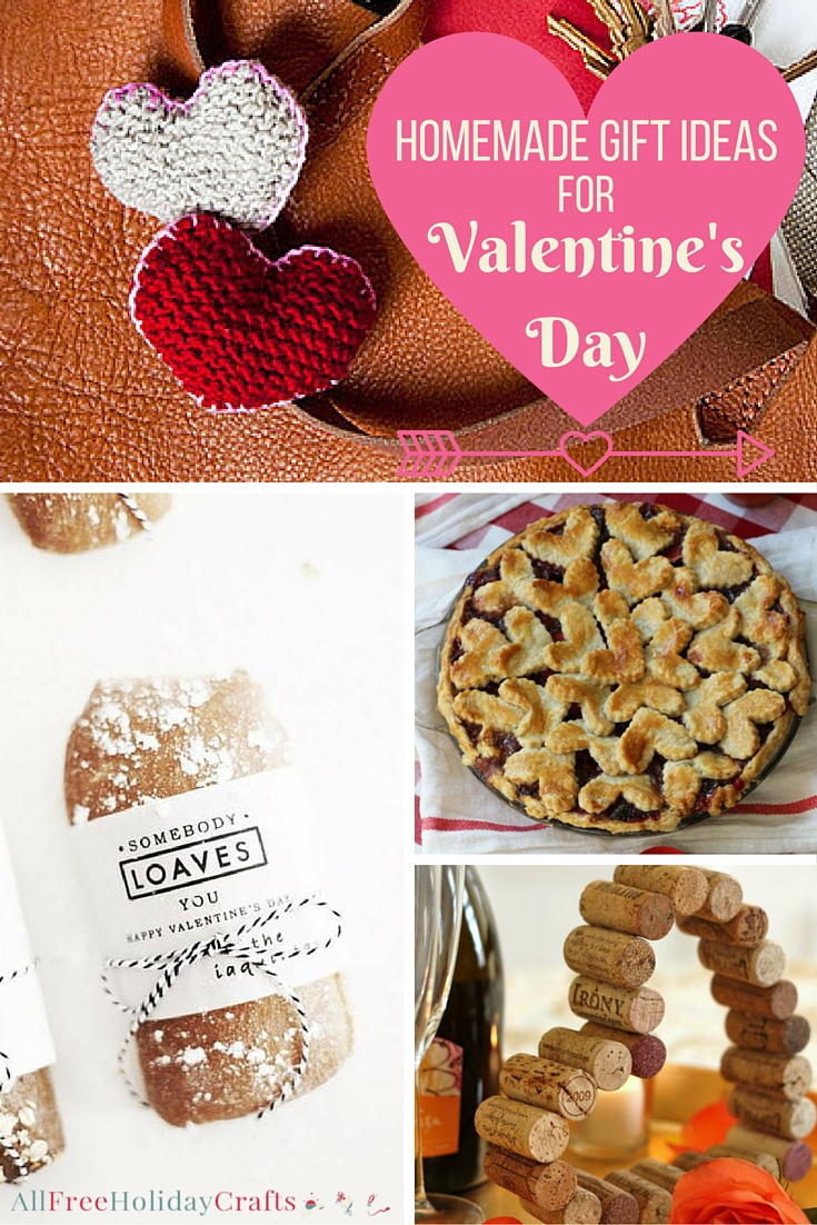 40 Homemade Gift Ideas For Valentines Day