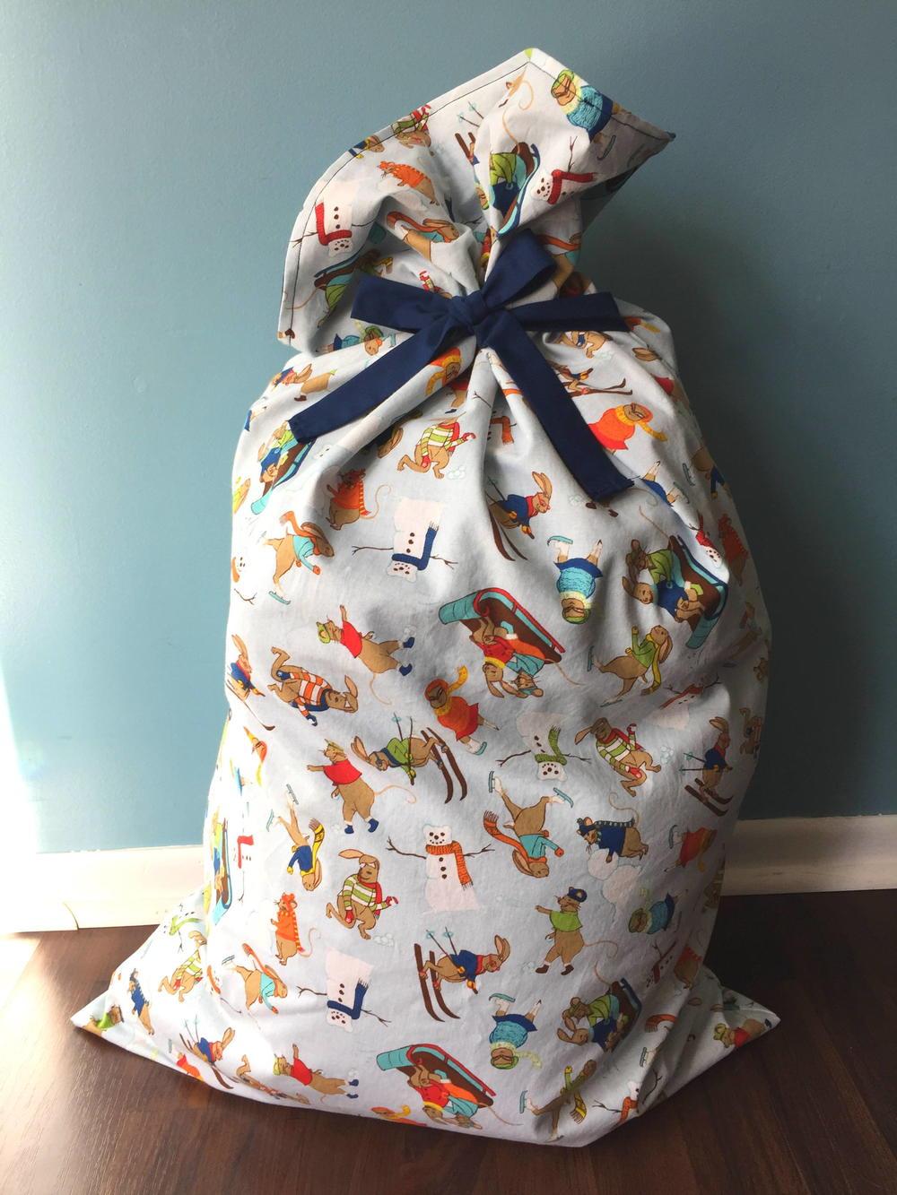 Santa Bag Tutorial