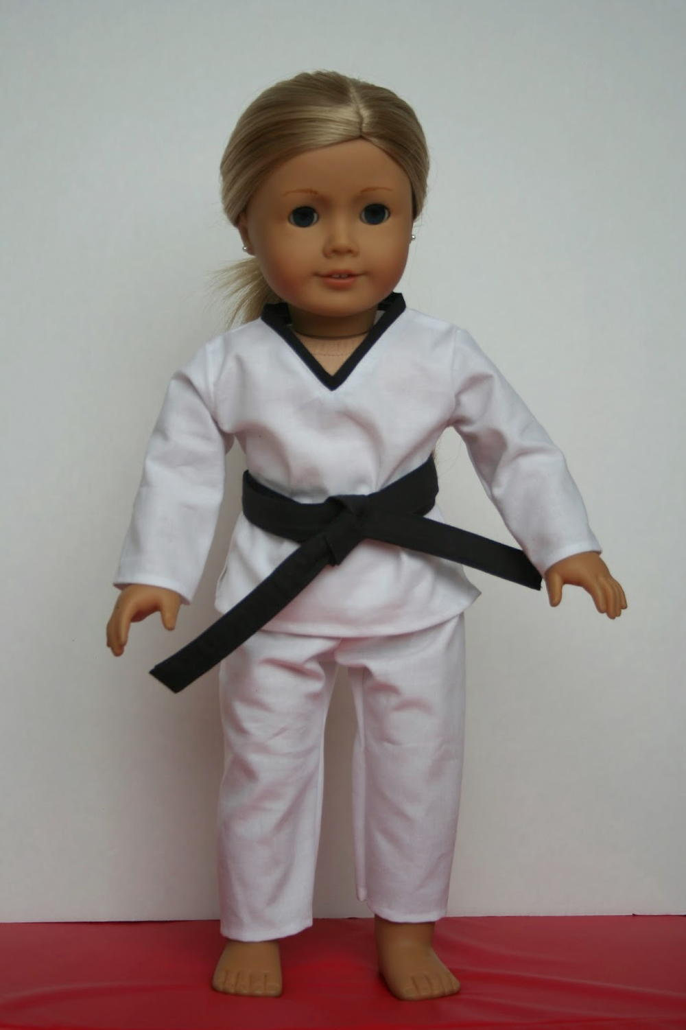 Karate Doll Clothes Pattern  AllFreeSewingcom