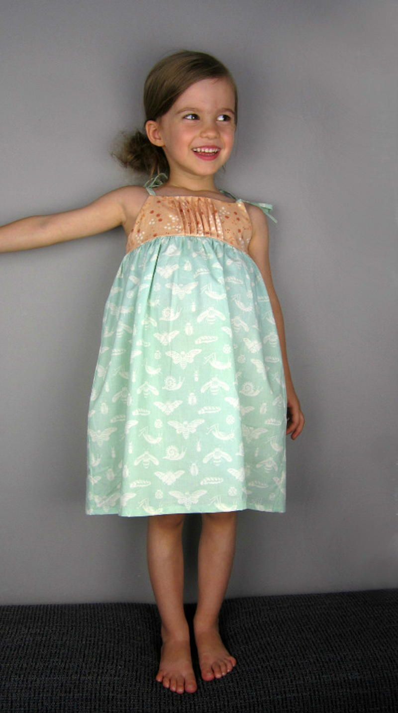English Garden Girl' Dress
