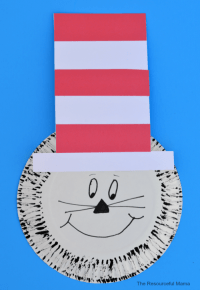 Paper Plate Dr. Seuss Cat in the Hat Craft ...