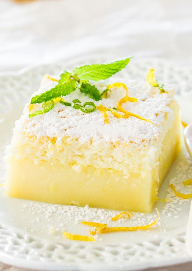Lemon Magic Cake Recipelion Com