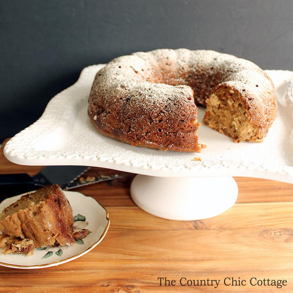 Easy Applesauce Cake Scratch