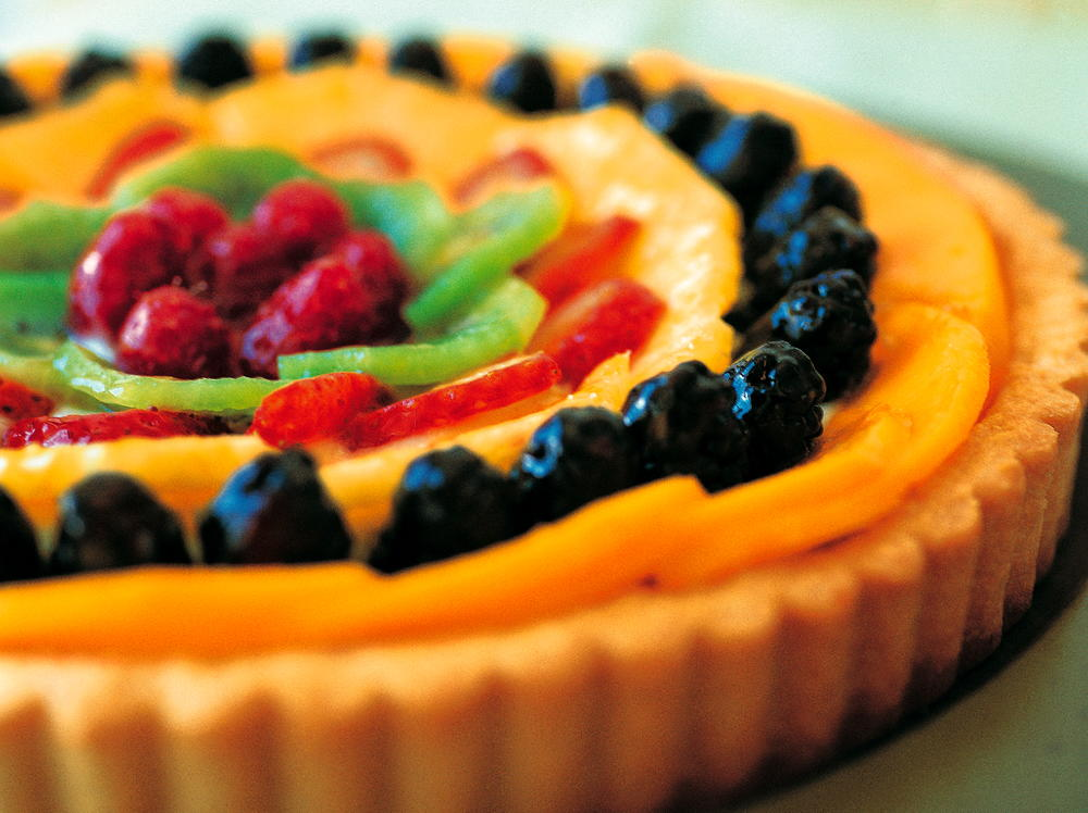 Fresh Fruit Tart  Cookstrcom