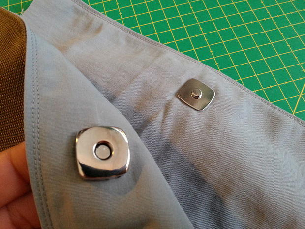 How to Sew a Magnetic Snap  AllFreeSewingcom