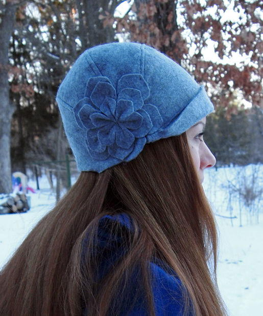 How To Make A Cloche Hat : cloche, 1920s, Cloche, Pattern, AllFreeSewing.com