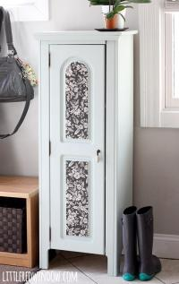 Elegant Refurbished Entryway Cabinet | FaveCrafts.com