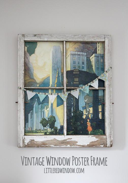 Vintage Window Diy Wall Art Favecrafts