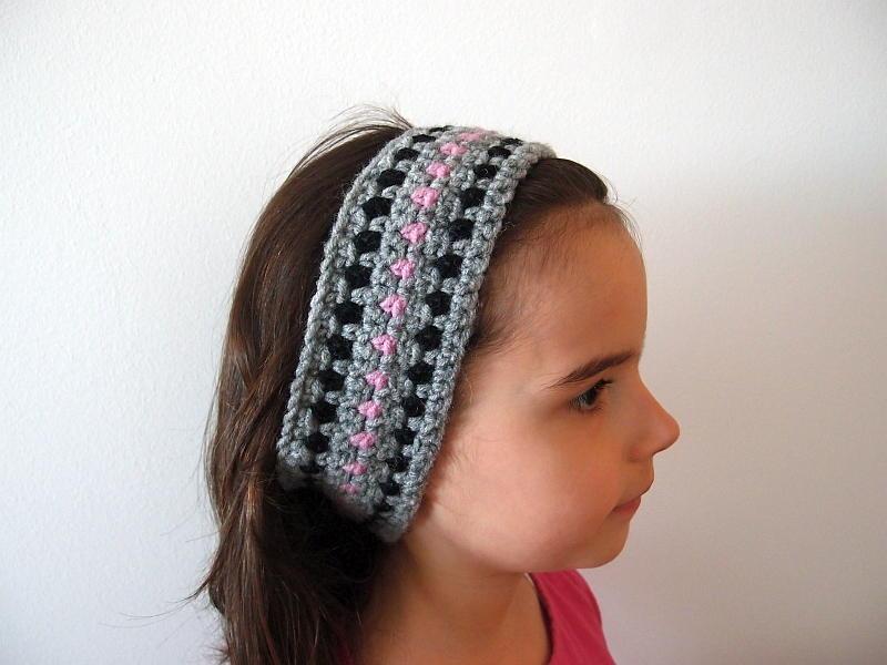 Diamond Headband | AllFreeCrochet.com