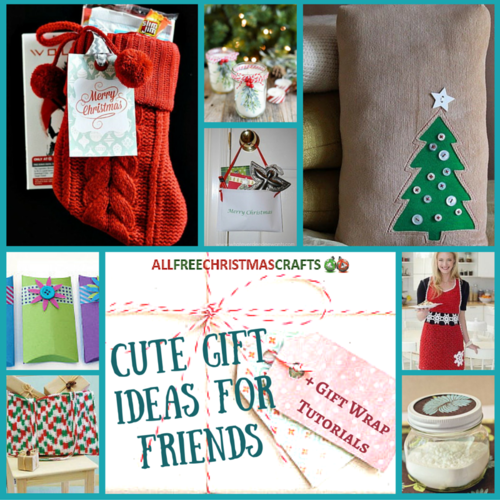 30 Cute Gift Ideas For Friends 8 Gift Wrap Tutorials
