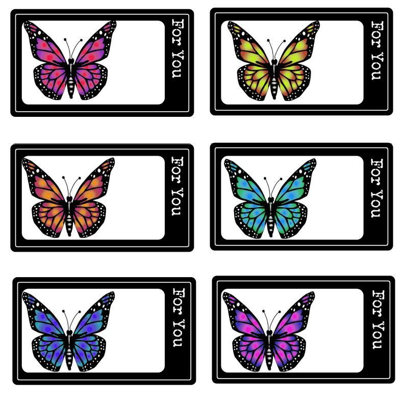 Butterfly Free Printable Gift Tags