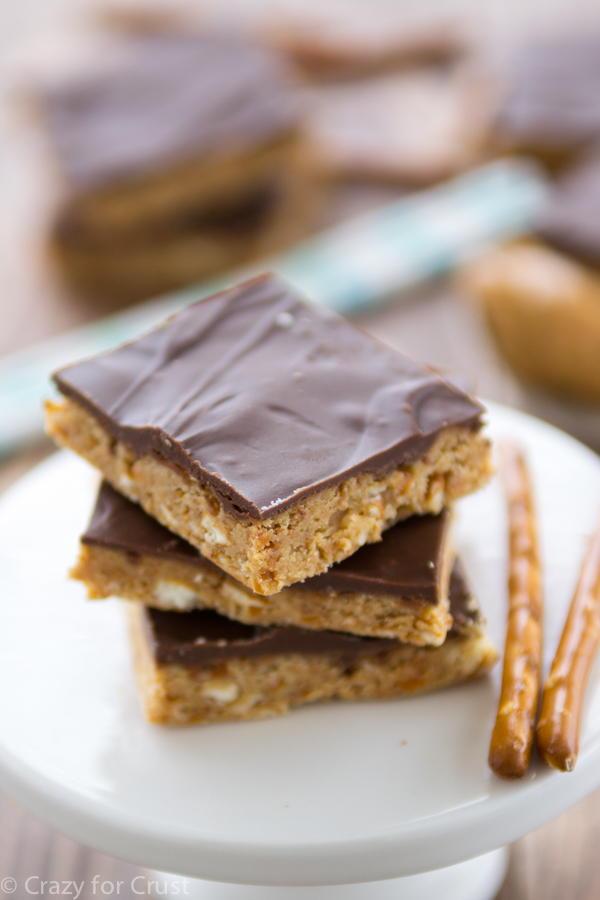 Trisha YearwoodInspired Chocolate Peanut Butter Bars