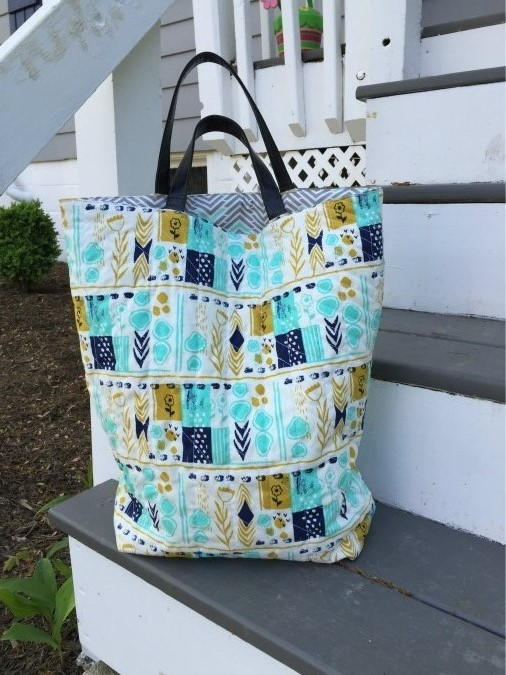 Quilted DIY Tote Bag  FaveCraftscom