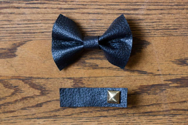 Leather Hair Bow Tutorial  AllFreeSewingcom