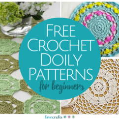Crochet Doily Patterns With Diagram Fluorescent Light Wiring For Ballast 13 Free Beginners Favecrafts Com These You Ll Be Able To Add A Lovely Lace Accent Any Room In Your Home