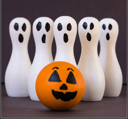 DIY Ghost Bowling Set  FaveCraftscom