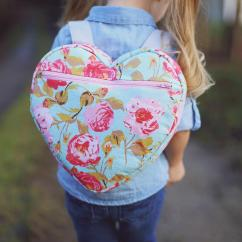 Kitchen Chair Slipcovers Outdoor Fabric Replacement I-heart-school Backpack Pattern   Allfreesewing.com