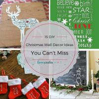 15 DIY Christmas Wall Decor Ideas You Can't Miss ...