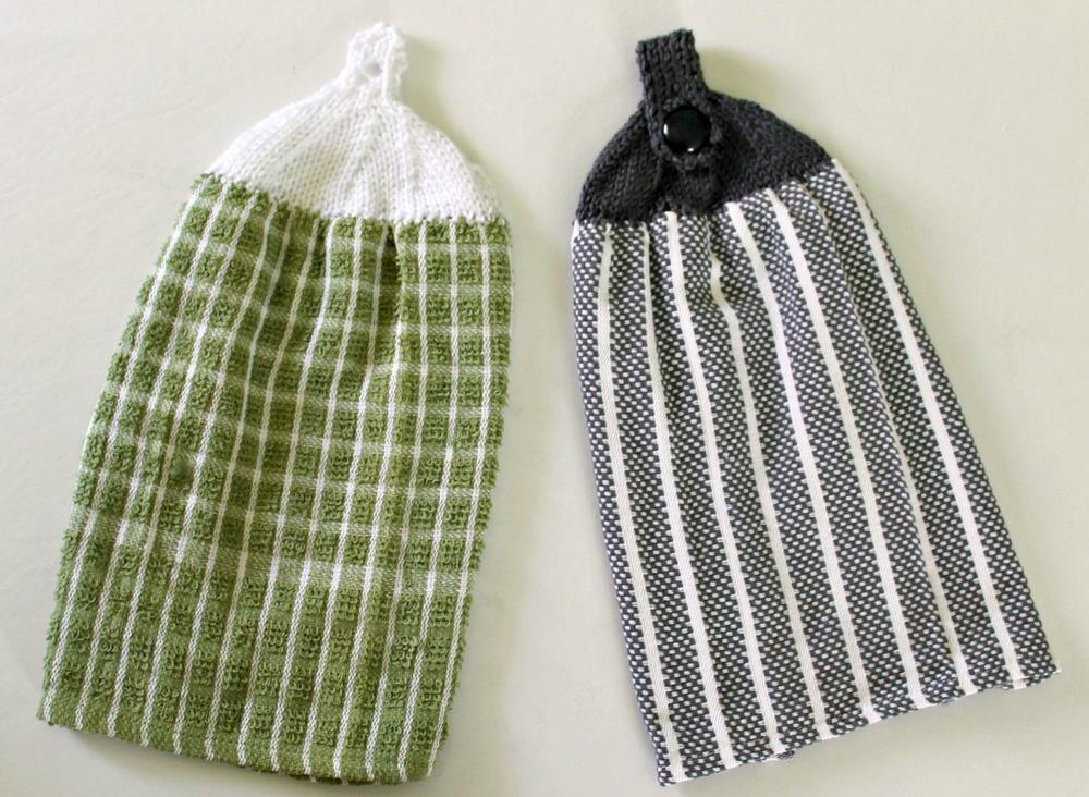 Knit Towel Top  AllFreeKnittingcom