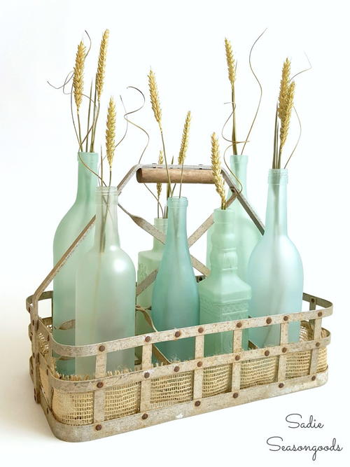 DIY Sea Glass Bottle Craft