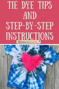 Easy Tie Dye Tips and Step-by-Step Instructions ...