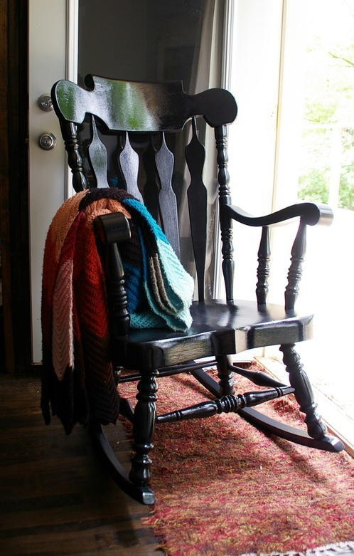 Rocking Chair Makeover  DIYIdeaCentercom