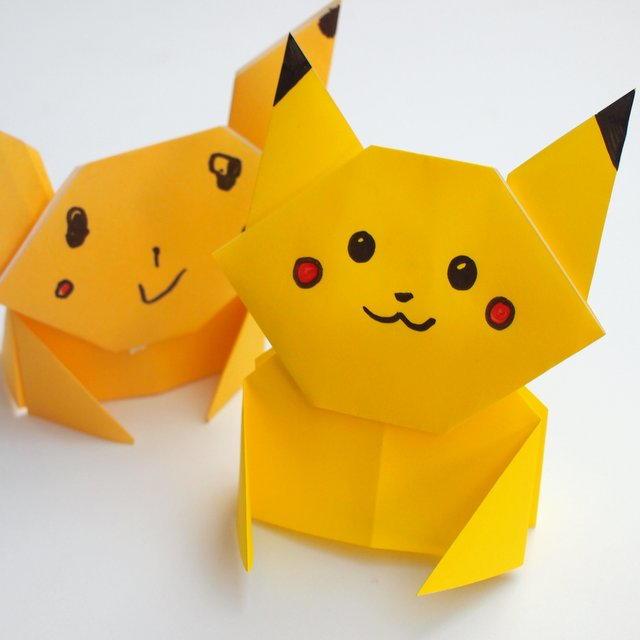 Pikachu Origami Tutorial