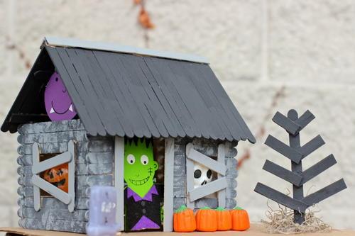 Halloween Haunted House Craft For Kids AllFreeKidsCrafts Com