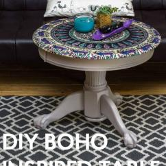 Living Room Decorating Tips Best Rooms Pictures Diy Boho Inspired Table   Diyideacenter.com