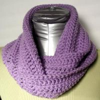 Quick and Easy Infinity Cowl | AllFreeCrochet.com