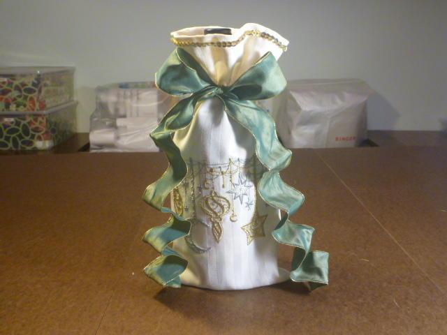 Easy DIY Wine Bottle Gift Bag  AllFreeSewingcom