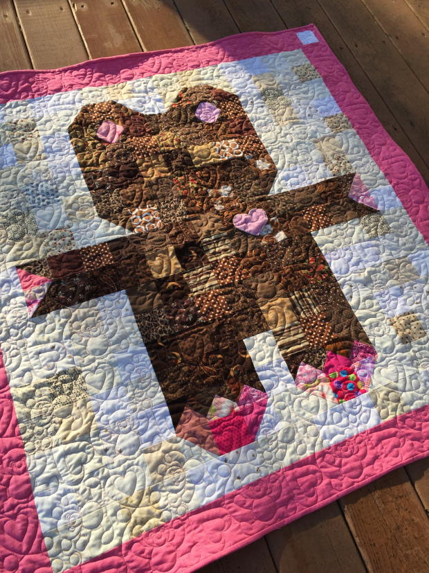 Roly Poly Teddy Bear Quilt  FaveQuiltscom