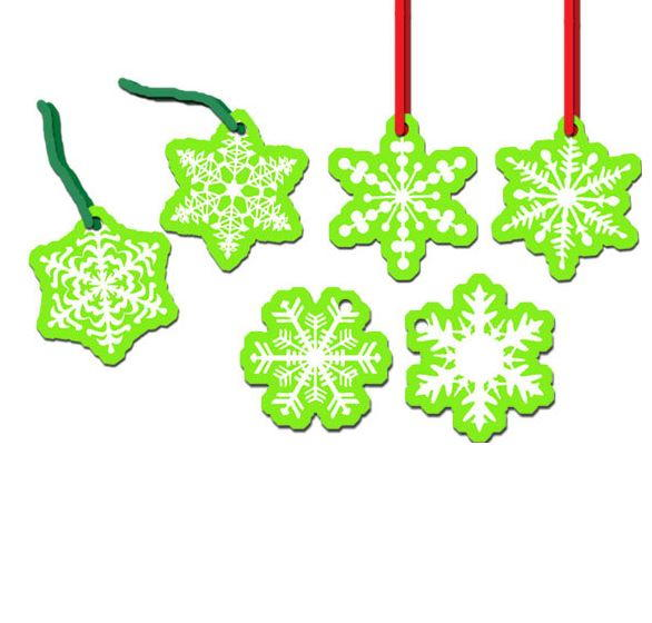 Ornaments Paper Christmas Patterns