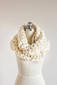 Chunky Crochet Scarf | FaveCrafts.com