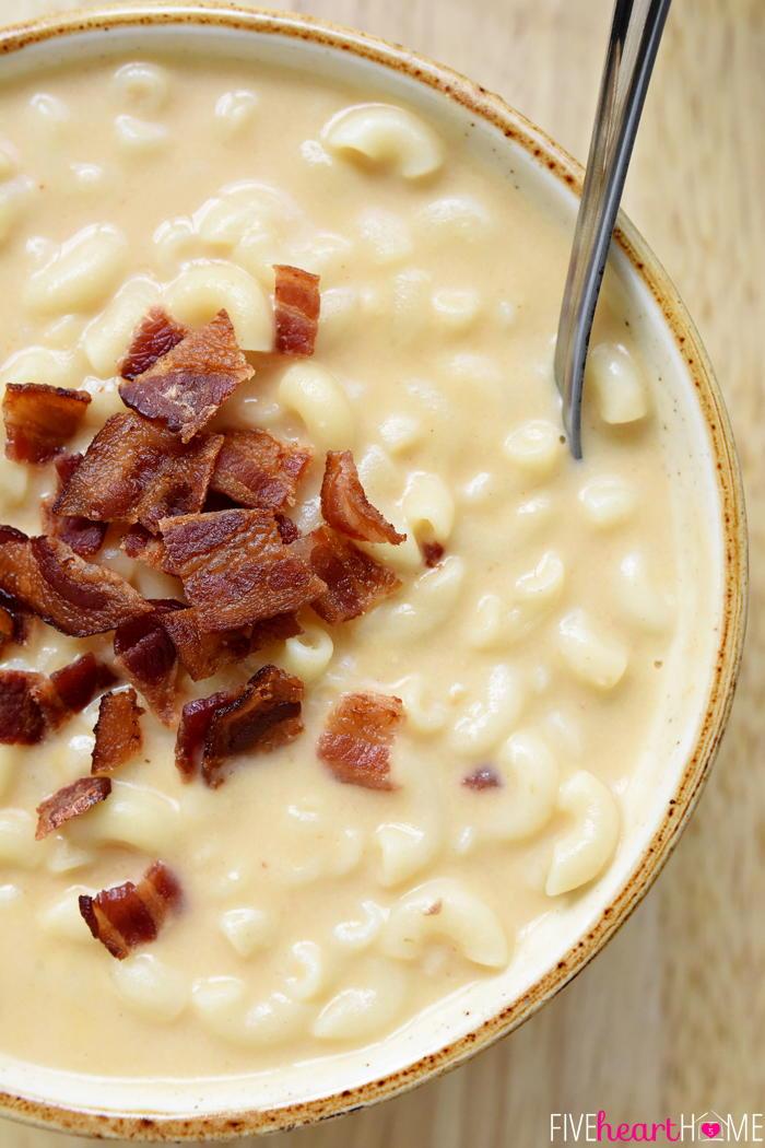 Cozy Mac And Cheese Soup Recipelion Com