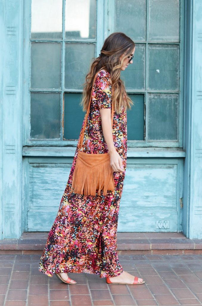 Boho Chic Maxi Dress Tutorial  AllFreeSewingcom