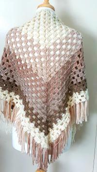 Crochet Ombre Shawl