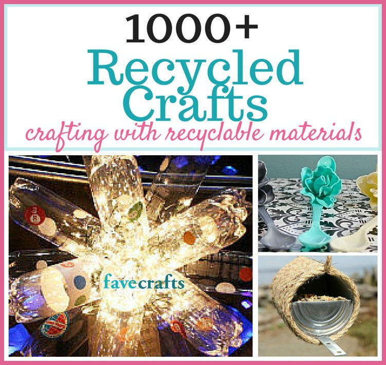 1000 Recycled Crafts And Projects