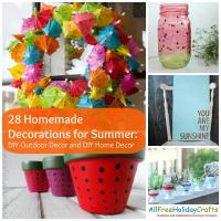 28 Homemade Decorations for Summer: DIY Outdoor Decor and ...
