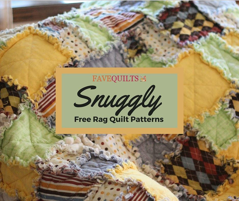38 Snuggly Free Rag Quilt Patterns