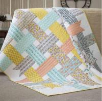 Nordic Ribbons Baby Quilt Pattern | FaveQuilts.com