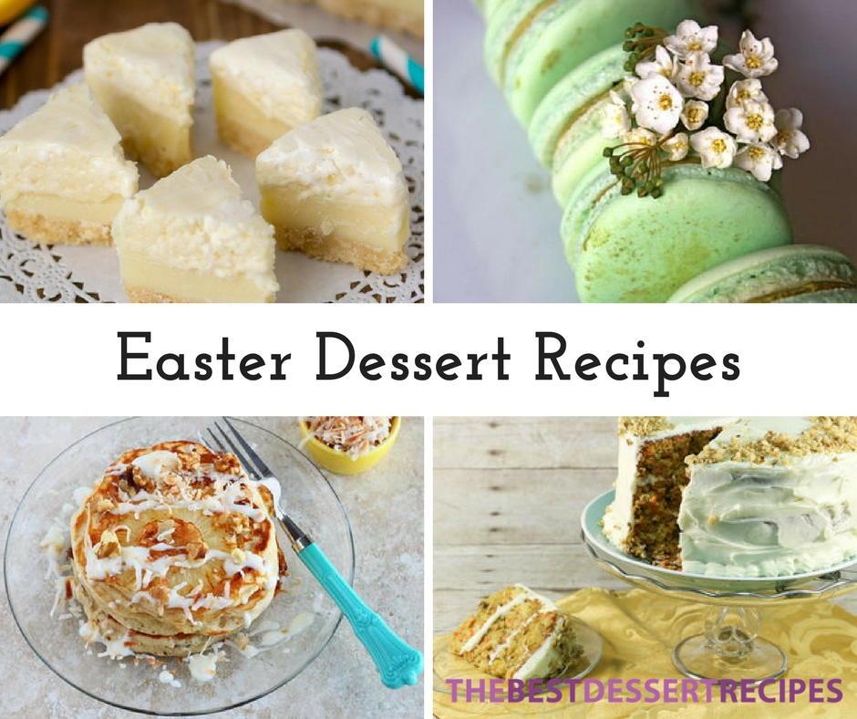 Easter Dessert Recipe Ideas