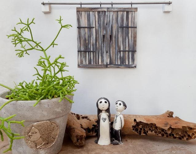 Hide Those Ugly Outlets With These Miniature Barn Doors  DIYIdeaCentercom