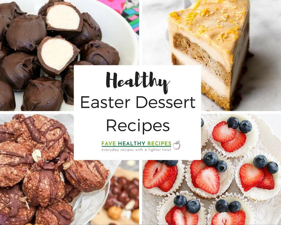 18 Healthy Easter Dessert Recipes