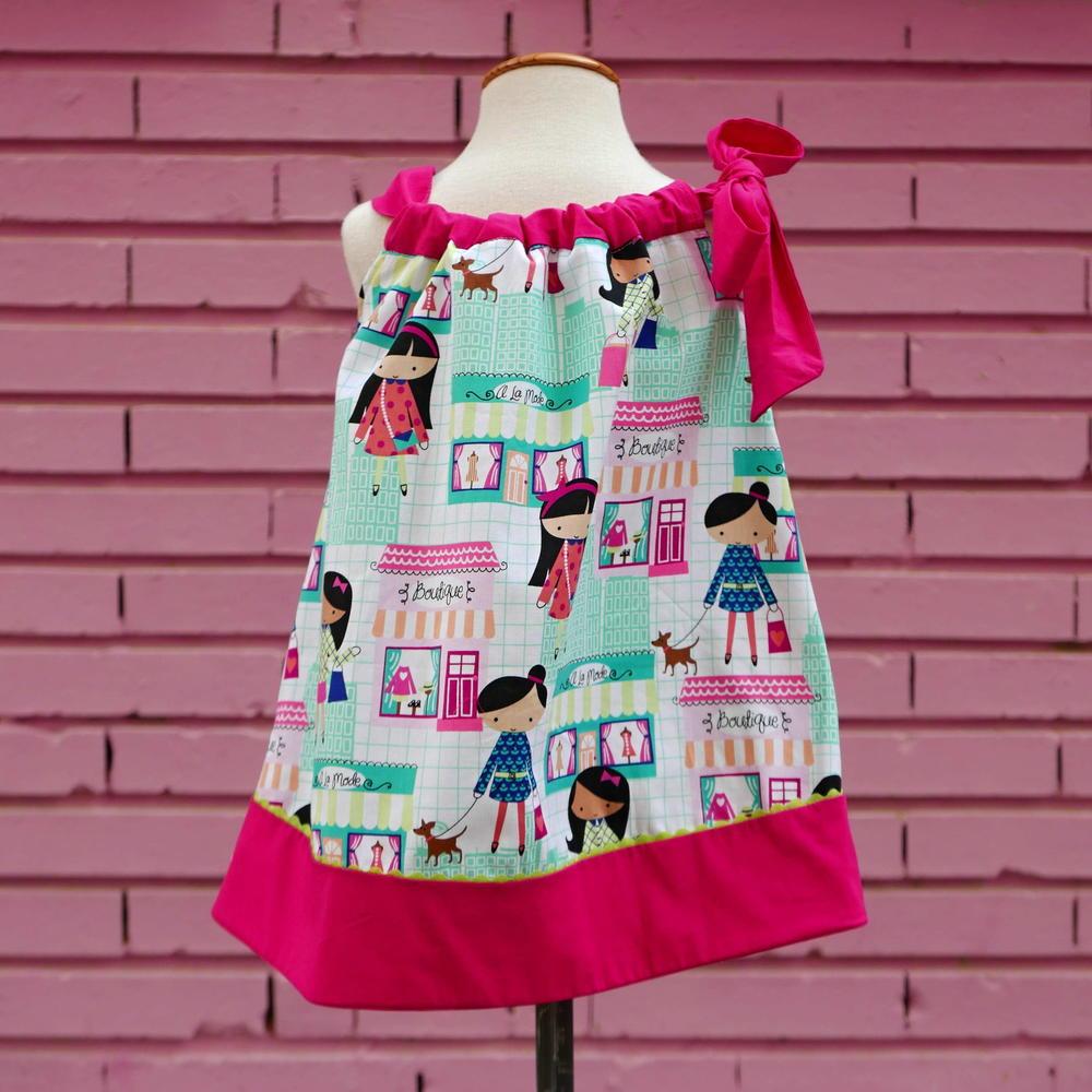 Girls Pillowcase Dress PDF Pattern 1  6 yrs