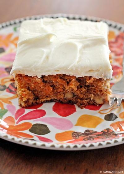 Ina Carrot Cake : carrot, Garten's, Pineapple, Carrot, FaveSouthernRecipes.com