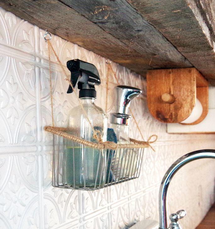 Life-Changing Kitchen Hanging Basket   DIYIdeaCenter.com