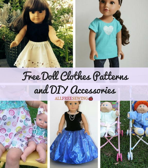 chair slipcovers ideas baby shower decoration 35 free doll clothes patterns and diy accessories   allfreesewing.com